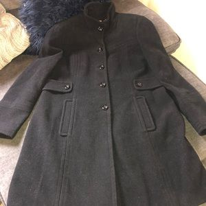 Worthington wool blend pea coat.